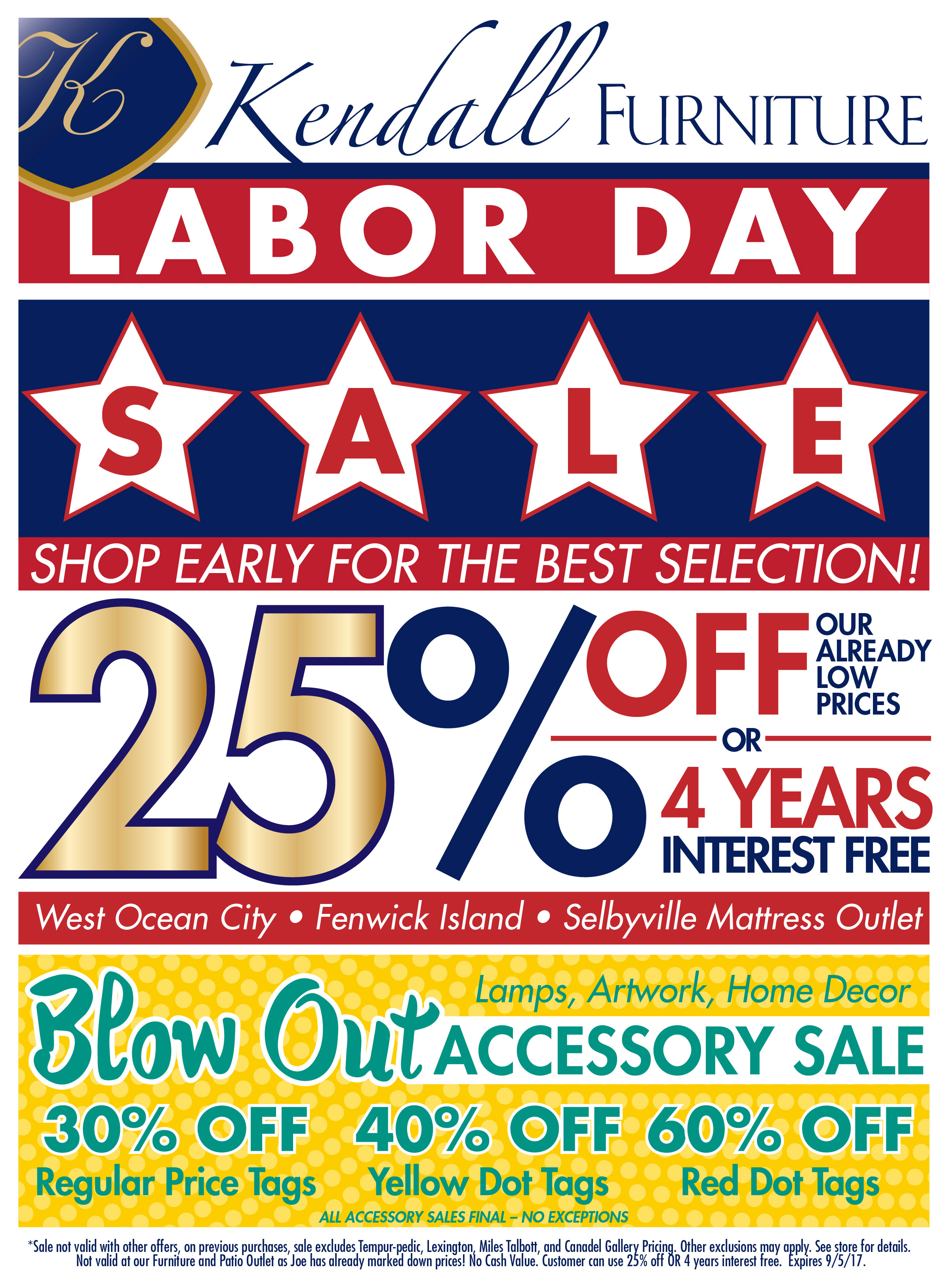 Also browse special Ads and Circular on major holiday sales days: January White sales, Memorial Day, Columbus Day, Valentines Day, Father's Day, Easter sales, Veterans Day, Presidents Day, July 4th sales, Black Friday ads, Cyber Monday deals, Mother's Day, Labor Day or Christmas sales.