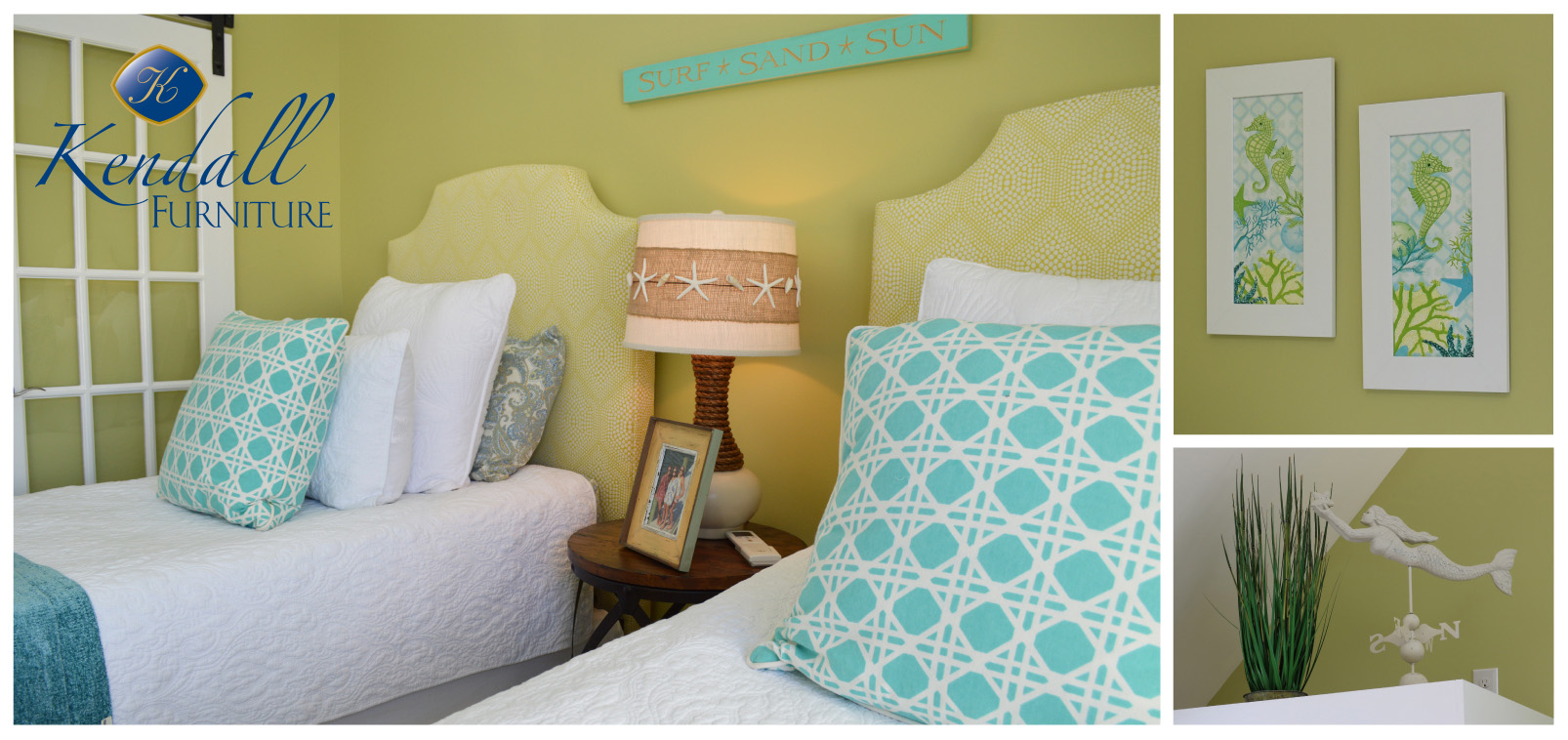Kendall Furniture Brings Coastal Flare To Ocean City Condo Hgtv Show Kendall Home Furnishings