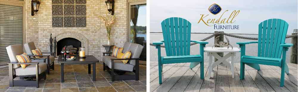 Patio seating options