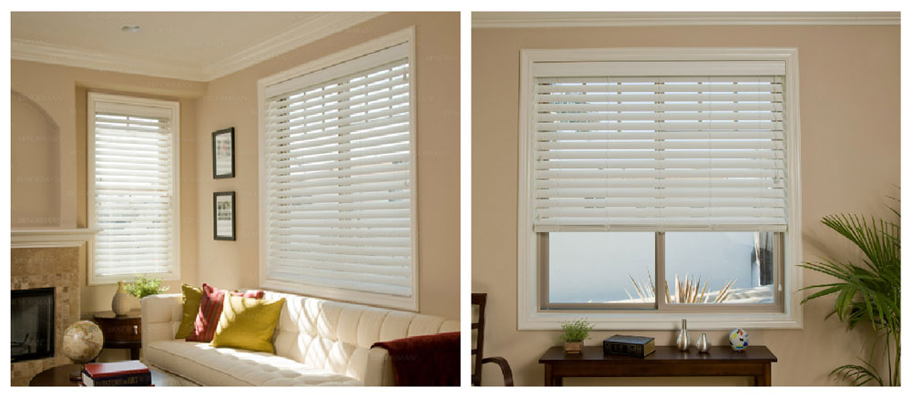 Faux Wood Norman blinds