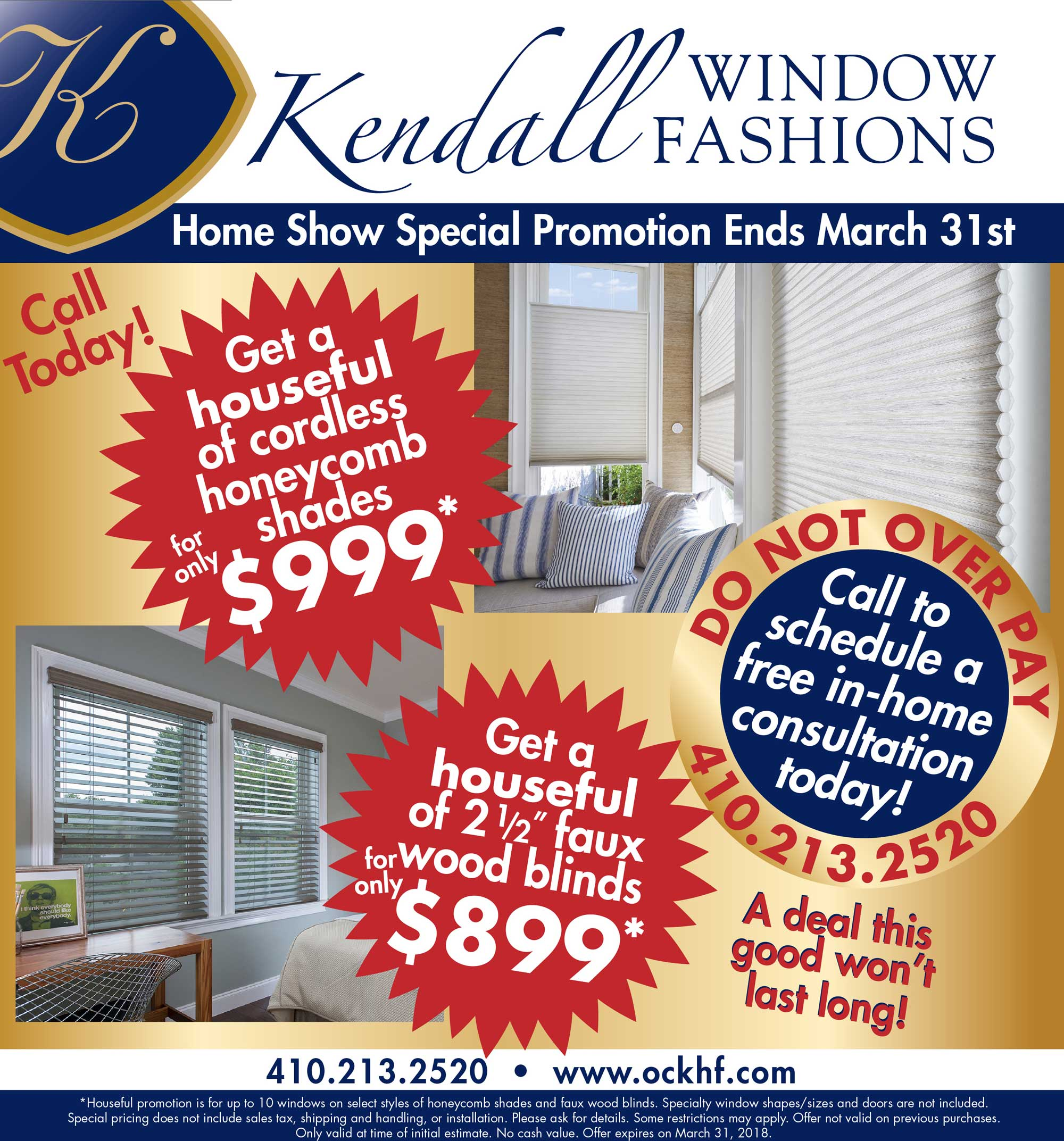 March Window Promotion