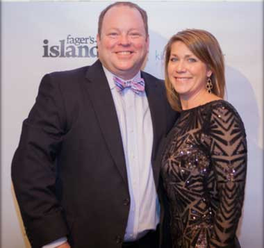 Joe and Alyson at Red Doors Gala