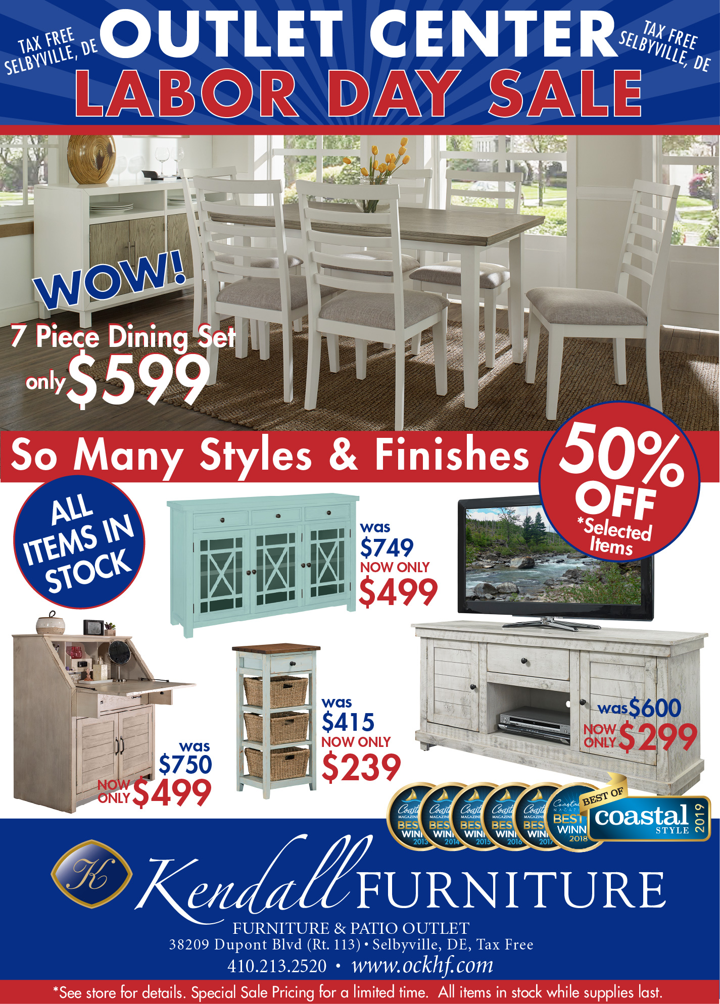 Labor Day Outlet Sale